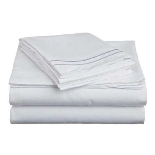 Clara Clark 8001 Queen Sheets - 1500 Collection WHITE