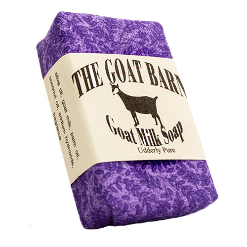 Goat Barn 1017 Soap Lavender 4.5oz
