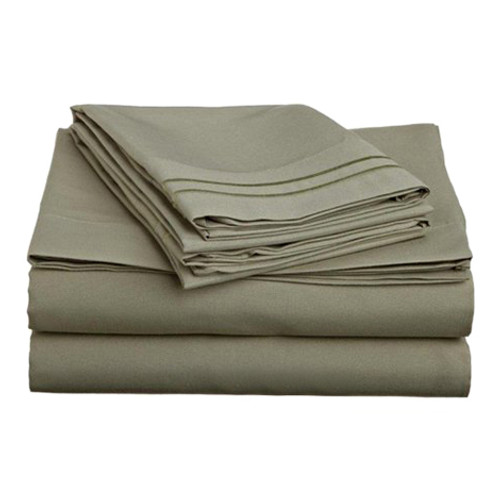 Clara Clark 8132 Twin Sheets - 1500 Collection SAGE