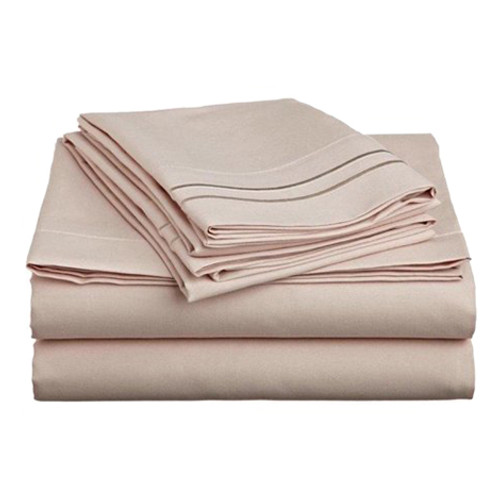 Clara Clark 8103 Cal King Sheets - 1500 Collection CREAM
