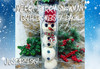 Merry Berry Snowman Bath Bomb 4-Pack