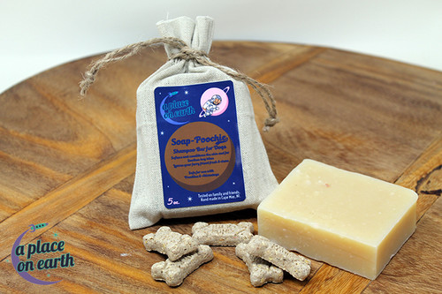 Soap-Poochie Shampoo Bar for Dogs