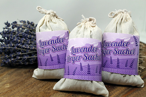 Lavender Dryer Sachets 3 Pack