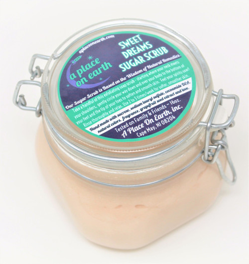 Sugar Scrub Oatmeal, Milk & Honey