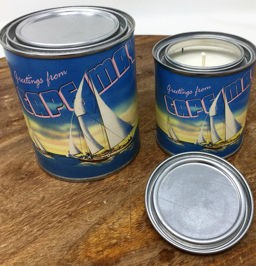 Postcards from Cape May Salty Mermaid Candle 8 oz.