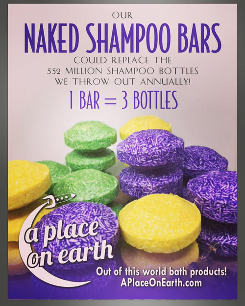 Naked Shampoo Bar Mint & Rosemary