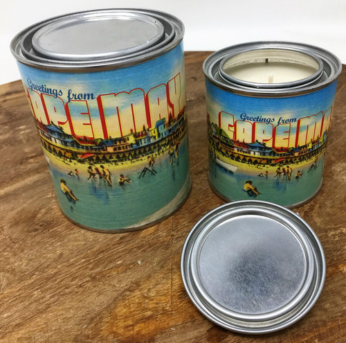 Postcards From Cape May Salted Caramel Popcorn Candle 8 oz