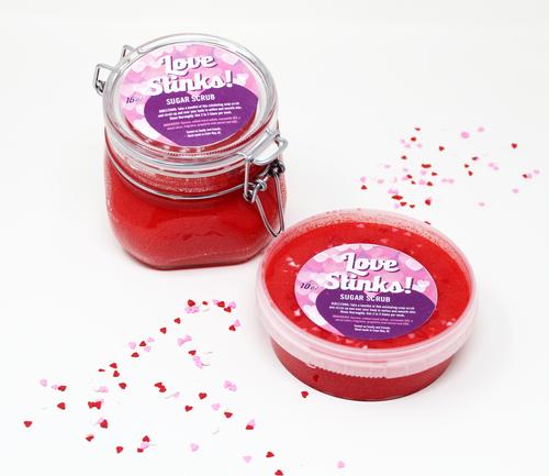 Love Stinks! Limited Edition Valentine's Day Sugar Scrub