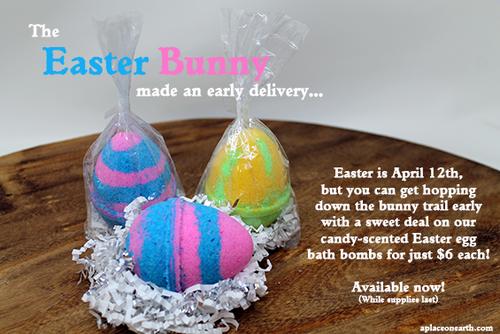 Egg Bath Bomb (cotton candy scent)