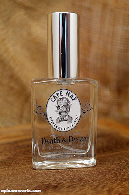 Cape May Smells Good on You: Death & Decay Perfume
