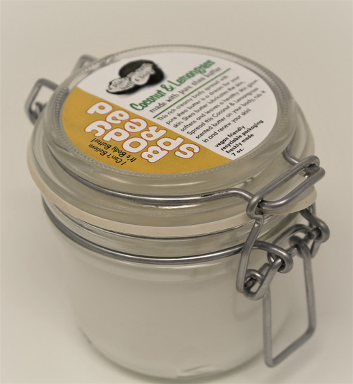 Body Butter Coconut Lemongrass