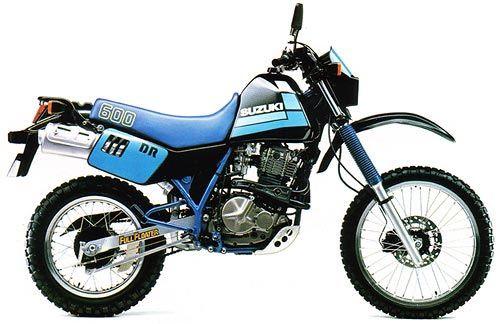 SUZUKI DR600 S/SU 1985-1989