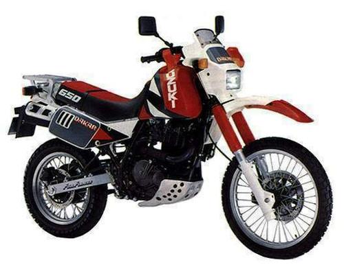 SUZUKI DR 650R SP42B 1990-1991