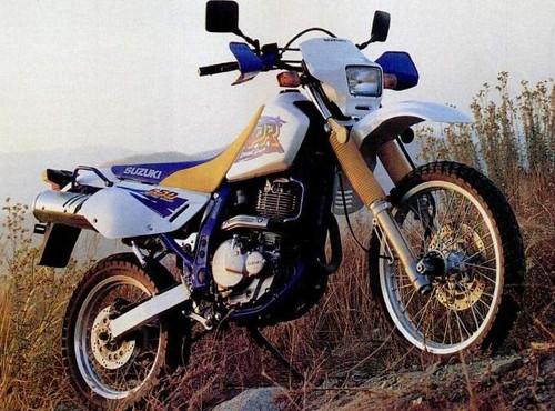 SUZUKI DR 650 R SP43B 1991-1996