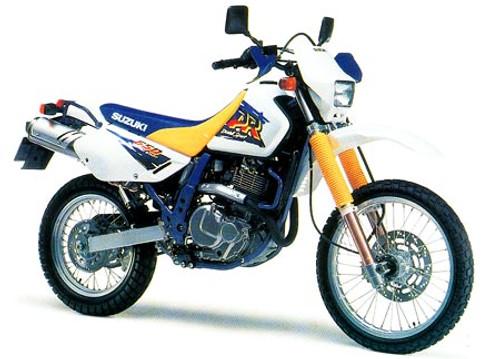 SUZUKI DR 650 R SE 1996-2000