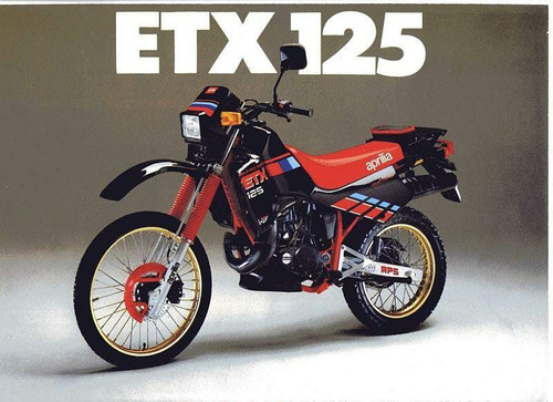 APRILIA ETX 125 1998 98- FRONT & REAR BRAKE LINE KIT EBE