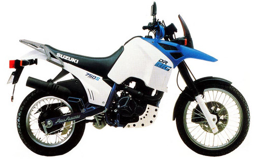 SUZUKI DR750 S SU 1989-1990