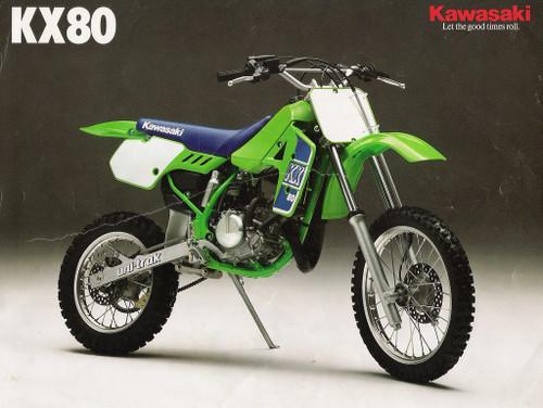 1989 KAWASAKI KX80
