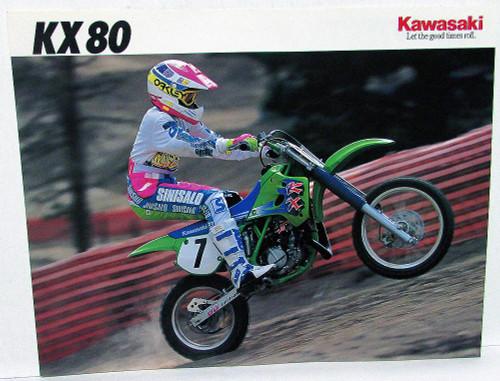1991 KAWASAKI KX80
