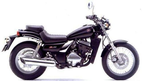 KAWASAKI EL 252 EL250F 1985-