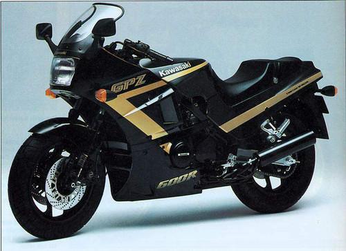 KAWASAKI GPZ 600 R ZX600C 1997-2000
