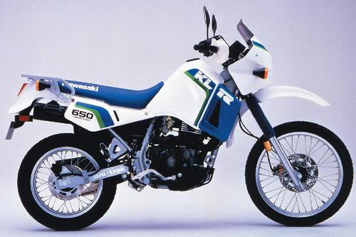 KAWASAKI 650 KLR KL650A 1987-1988