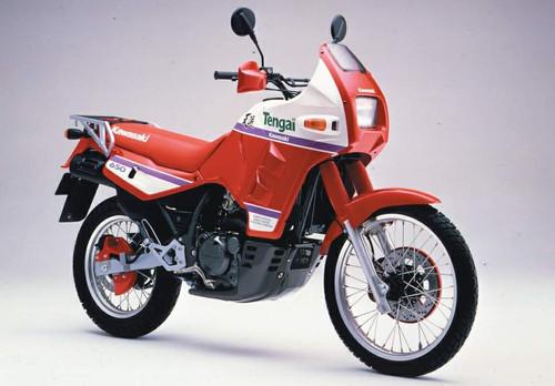 KAWASAKI 650 KLR KL650A 1989-1990