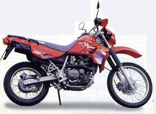 KAWASAKI 650 KLR KL650B 1991-1994