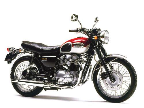 KAWASAKI 650 W EJ650A 1999-2001
