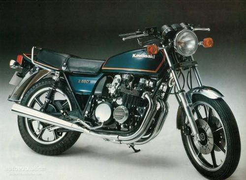 KAWASAKI 650Z KZ650F 1981-1983