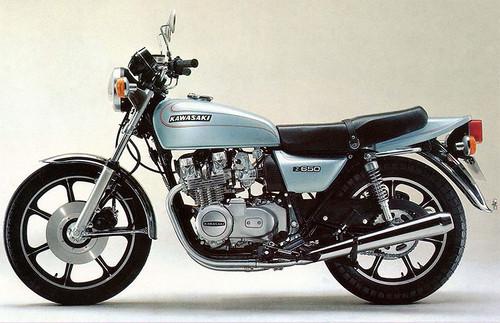 KAWASAKI 650Z KZ650C 1978-1979