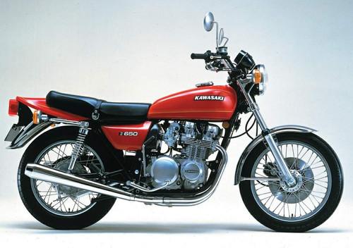 KAWASAKI 650Z KZ650D 1979-1980