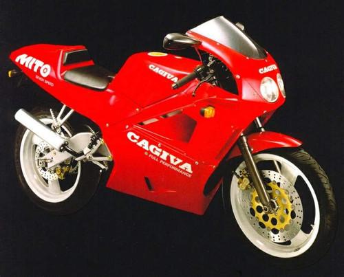 CAGIVA 125 MITO 1991-92