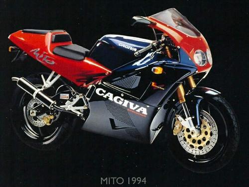 CAGIVA 125 MITO-2 1993-1994 FRONT BRAKE LINE KIT