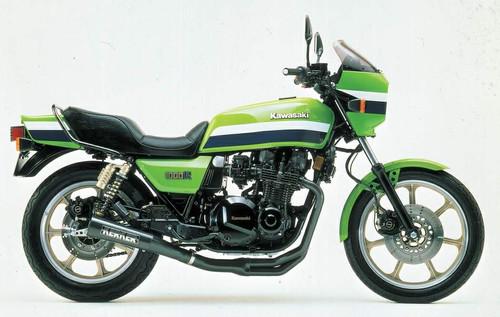KAWASAKI KZ1000J J1 J2 KZT00J 1981-1982