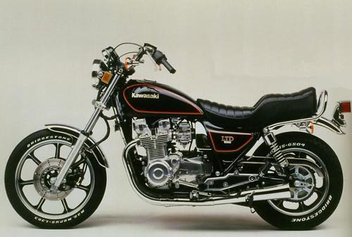 KAWASAKI KZ1000J LTD KZT00J 1981-1986