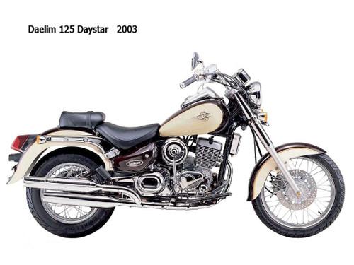 DAELIM 125 DAYSTAR 2000