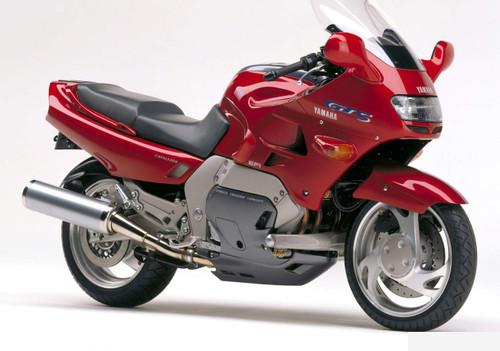 YAMAHA GTS1000 GTS 1993-1999 STAINLESS BRAIDED BRAKE KIT