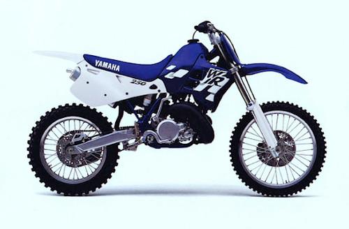 YAMAHA WR250 YZ 1999