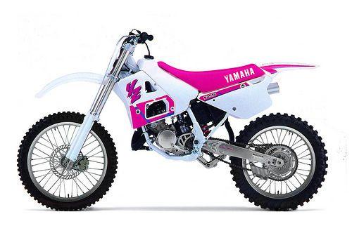 YAMAHA YZ125 YZ 1990-1995