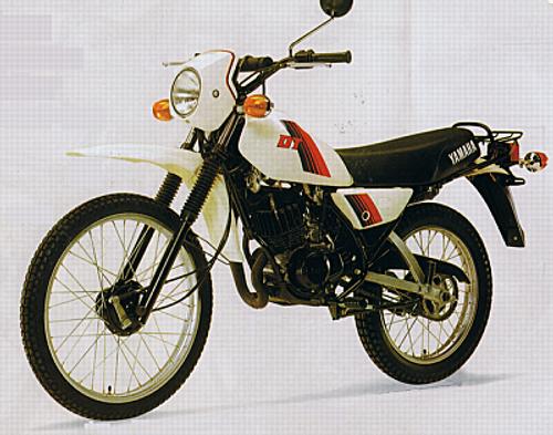 YAMAHA DT 80 LC2 1985-1992