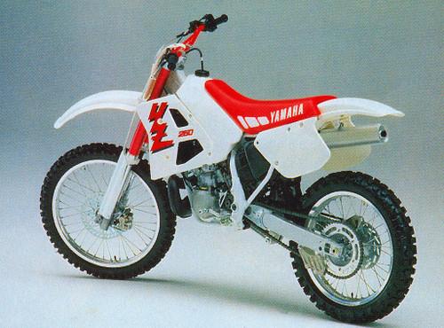 YAMAHA YZ250 YZ 1990-1991