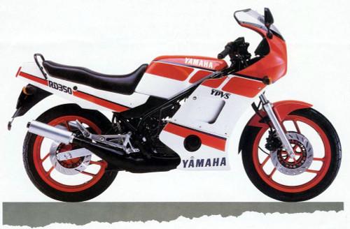 YAMAHA RZ350 F RZ350 1986-1990