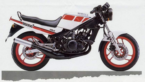 YAMAHA RZ350 N RZ350 1986-1990