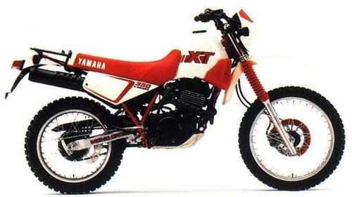YAMAHA XT350 XT 1991-