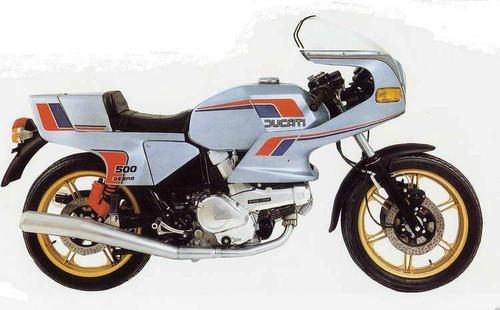 DUCATI 500 PANTAH 1980-1984