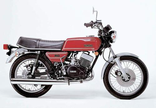 YAMAHA RD 400 RD400 1976-1978