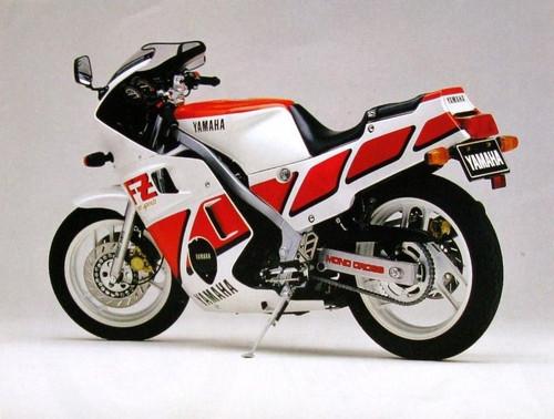 YAMAHA FZ600 FZ 1986-1987