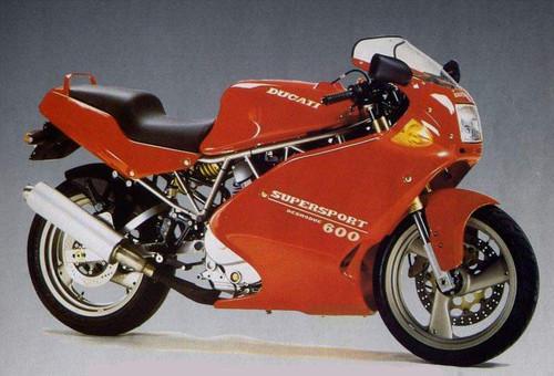 DUCATI 600 SS 1993-1995