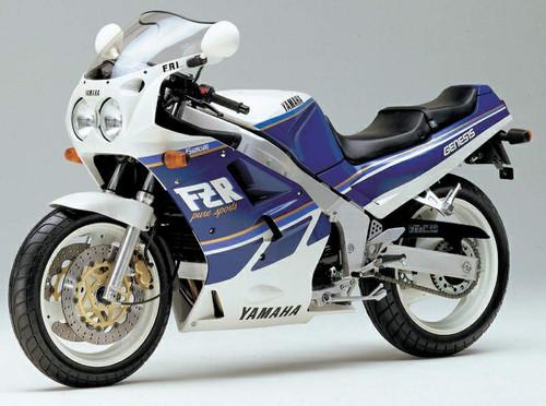 YAMAHA FZ750 FZR 1989-1991